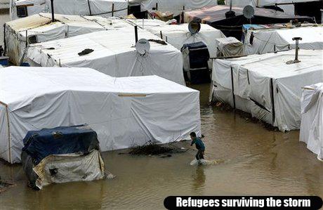 Mideast Lebanon Syria Refugee Winter