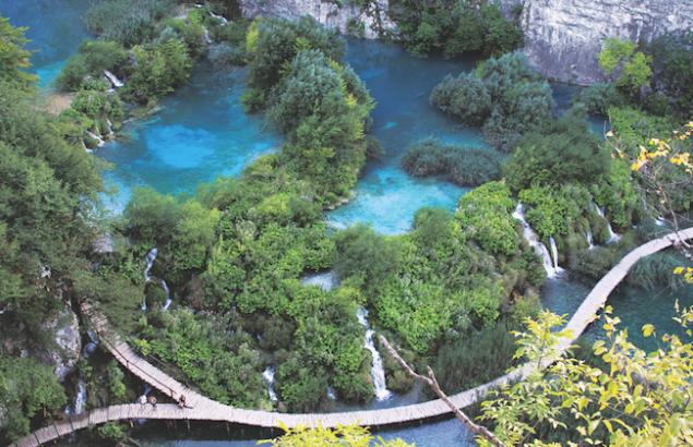 Baysour fake river