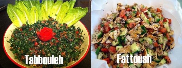 Tabbouleh Fattoush