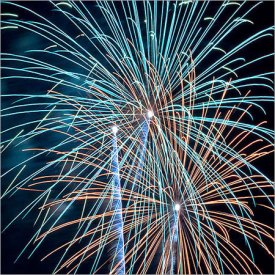 soundless fireworks