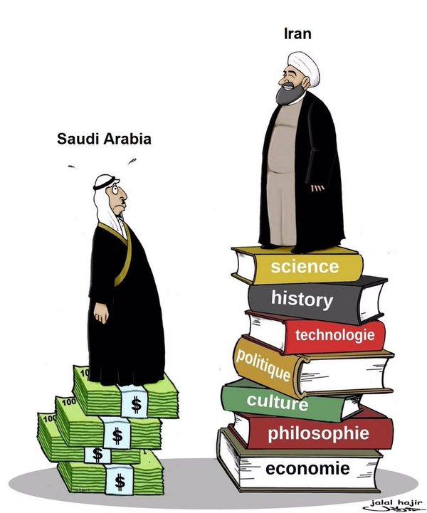 Iran vs KSA by Jalal Hajir