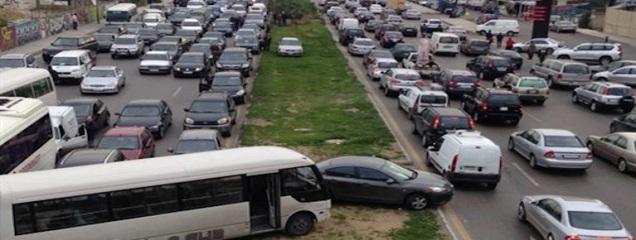 traffic land